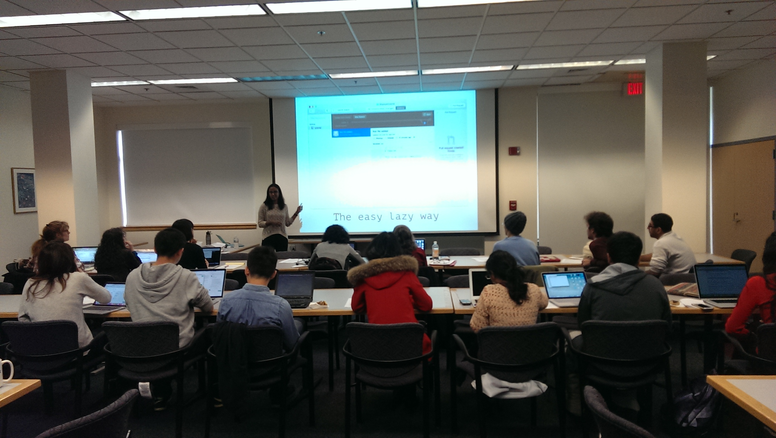 Fall Technical Workshop Series Wrapping Up