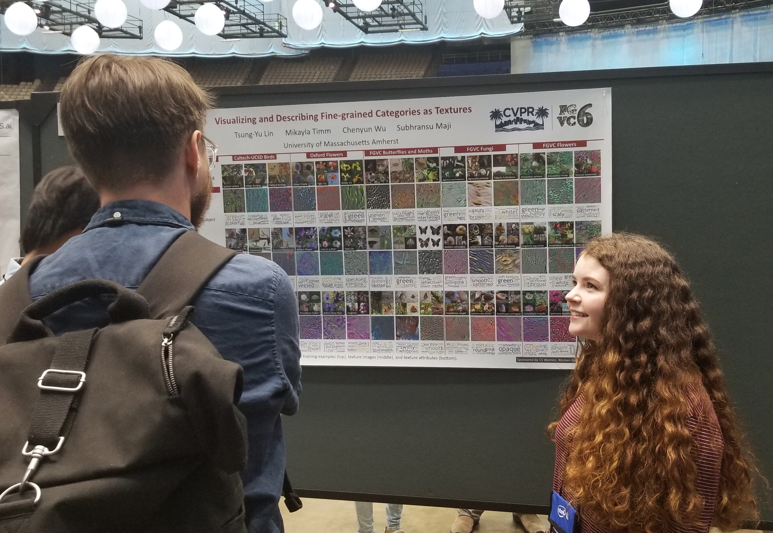 Mikayla Timm attends CVPR 2019 in Long Beach, CA
